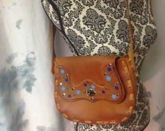 Vintage Saddle Bag Medium Sized