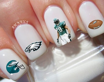 Philadelphia Eagles Nail Decals