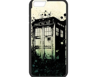 iPhone Case Tardis Doctor Who For iPhone 4, iPhone 5, iPhone 5c, iPhone 6, iPhone 6 Plus