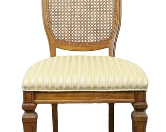 BERNHARDT Country French Cane Back Dining Side Chair 111-511
