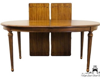 STANLEY FURNITURE Grand Duchess Fruitwood Oval  Dining Table 58-11-32