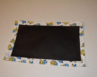 Minion Travel Chalkboard Mat