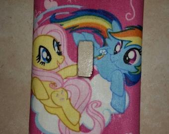 My Little Pony light switch face plate