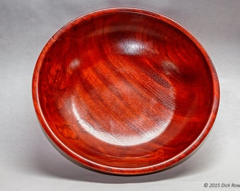 Dyed Elm Bowl
