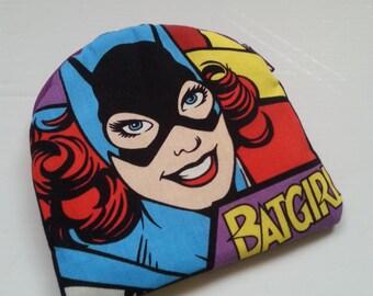 DC Batgirl Cotton Coin Purse / Small Pouch