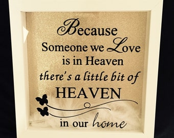 Someone We Love Is In Heaven Frame