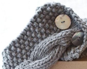 North Sea (Scotland) scarf cowl knitting kit