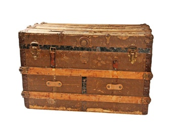 Steamer Trunk Coffee Table Etsy