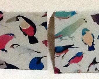 9 Birds Mini Note Cards