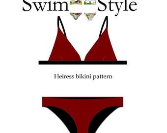 Heiress Women s bikini sewing pattern