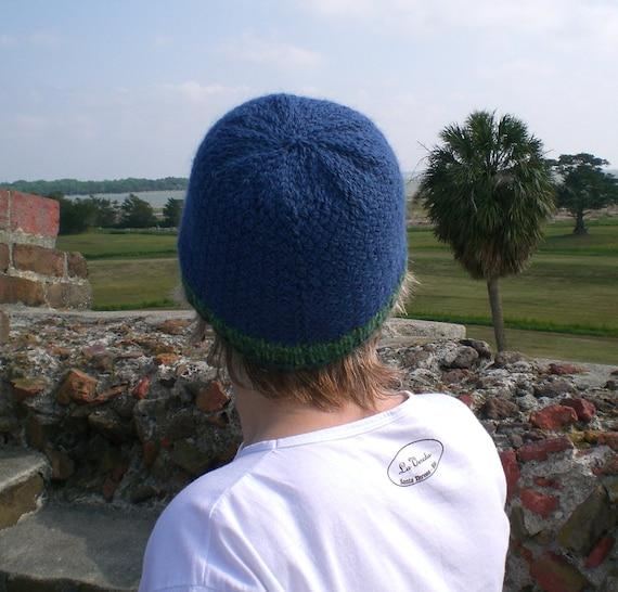 Knitting PATTERN, Knit beanie hat pattern, woven stitch skullcap style, KNIT ...