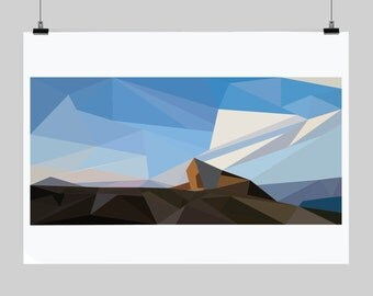 Messner Mountain Museum - Low-poly Artwork