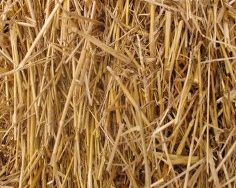 100 Percent Natural Wheat Straw 4lbs, 8lbs, or 12lbs