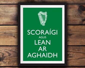 Scoraigi agus Lean ar Aghaidh