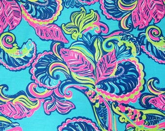 Lilly Pulitzer Fabric Dobby Cotton Private Island