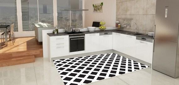 Chevron rug model chevron 014 suitable for kitchen by printip for Flooring suitable for kitchens