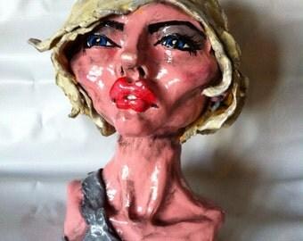 Debbie Harry Blondie Bust