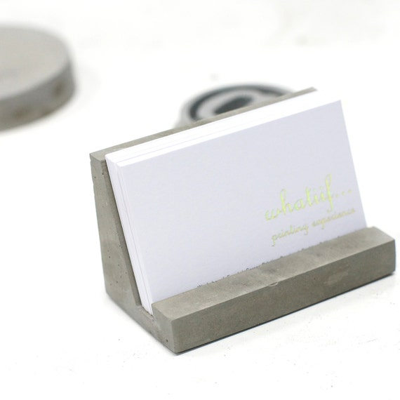 Cardboard Business Card Holder Template