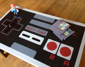 Custom NES Nintendo Controller Coffee Table