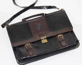 VENETO leather black bag