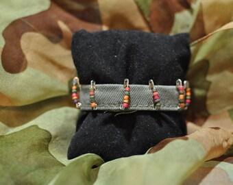 Military green bracelet