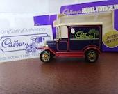 Vintage Lledo Cadbury's Model Vintage Van
