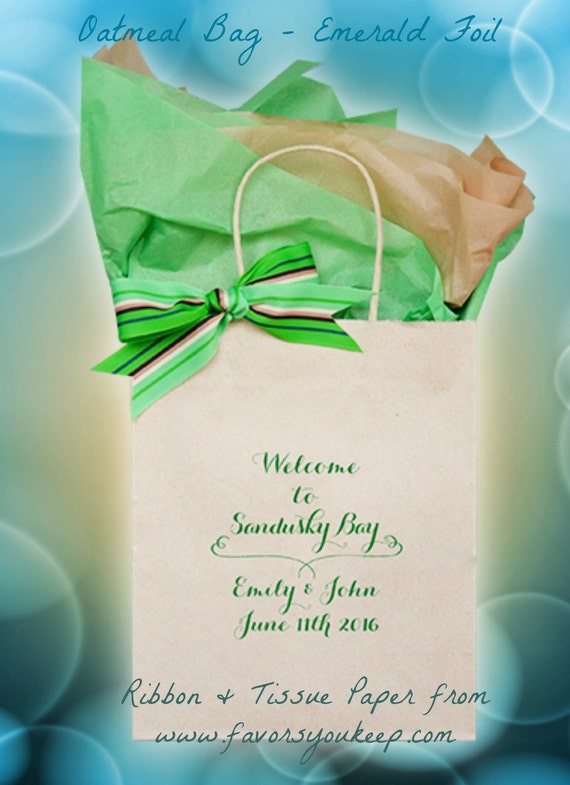 Personalized Wedding Gift Bags For Guests : Wedding Guest Gift Bag Personalized Wedding Welcome Bag OOT Bag ...