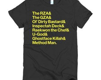 Women's Wu-Tang in Helvetica T-Shirt