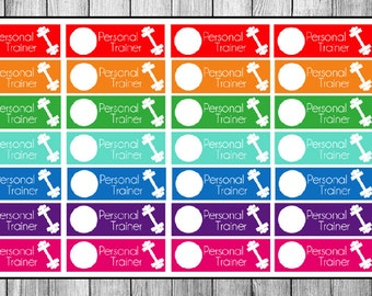 Personal Trainer Planner Stickers