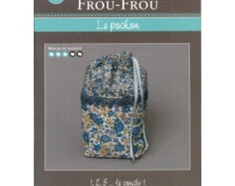 FCFF8 The pouch - FROU FROU - creative card - tutorial