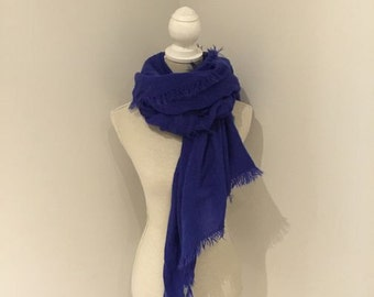 a beautiful mohair cosy scarf