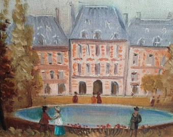 Michel Pabois: 'Place des Vosges'