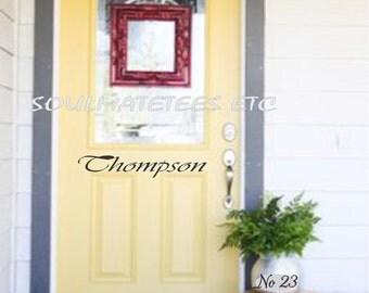 Decorative Door Decals