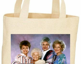The Golden Girls custom vintage style tote bag