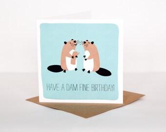 Dam Fine Birthday Card (ARPP002)