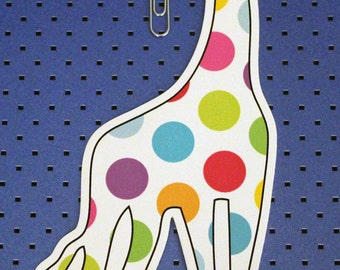 Giraffe Bumper Sticker
