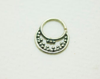 septum of silver