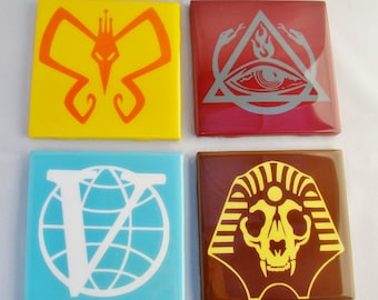 Venture Bros Set of Four Coasters