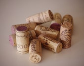 Wine Cork, 10 Used Red and White Wine Corks, place card holder diy, cork card holder diy, wedding place card holder diy