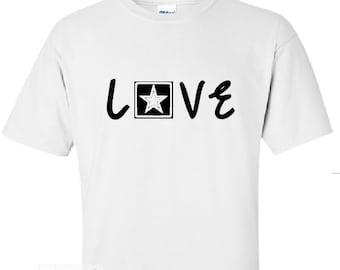 Army love tshirt