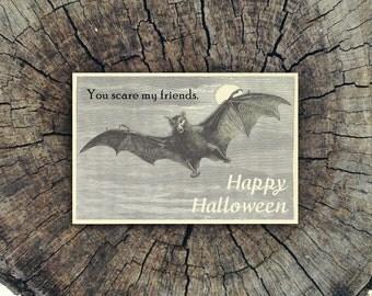 You Scare My Friends // Postcard