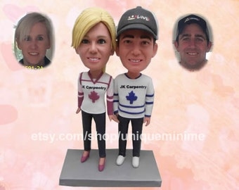 Personalized Wedding Gift Unique Wedding Gifts For Couple Custom Bobblehead dolls