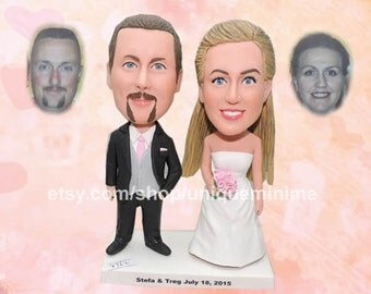 Personalized Wedding Cake Topper with Name, Custom Mr and Mrs Cake Topper, Personalized
