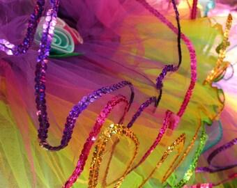 Rainbow Flower Fairy Dress