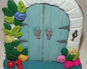 Fairy Door, Double Fairy Door, faery door, hobbit door, elf door, magical door, gnome door, fairy house, fairy accessories, whimsical