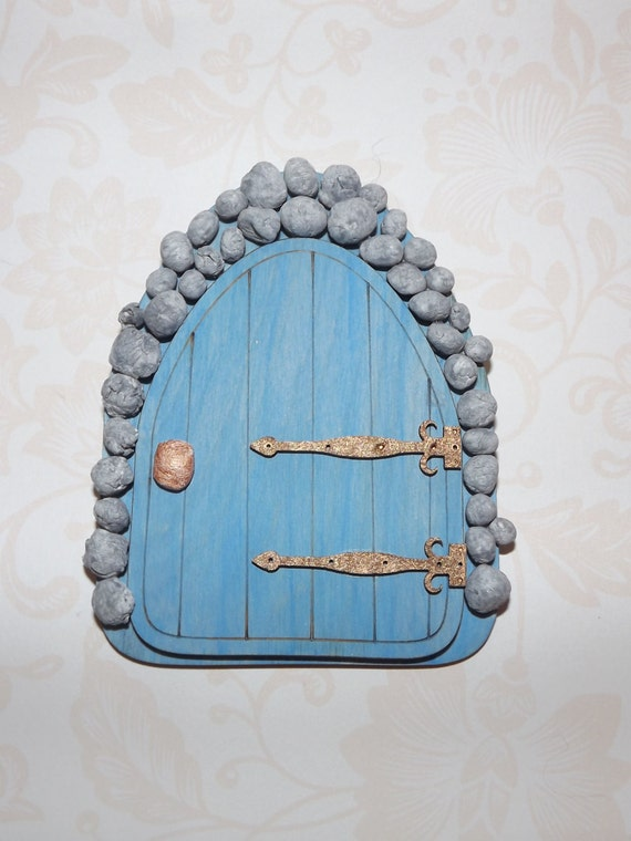 Stone fairy door fairy door fairy house hobbit door elf for Elf fairy doors