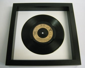 "Andy Gibb - ""An Everlasting Love"" - Framed Record"
