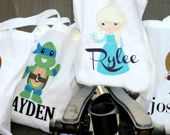 Halloween Totes - Personalized - Character