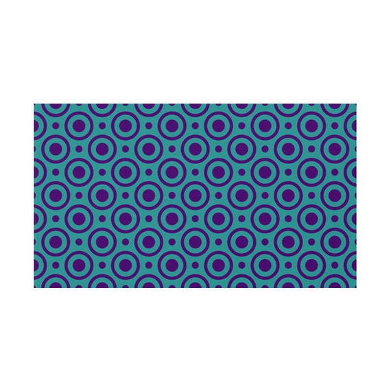 Purple Turquoise Rag Rug: Funny Turquoise And Purple Rug 4 Patterns Options Circles