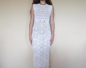 Crochet wedding dress wedding dress